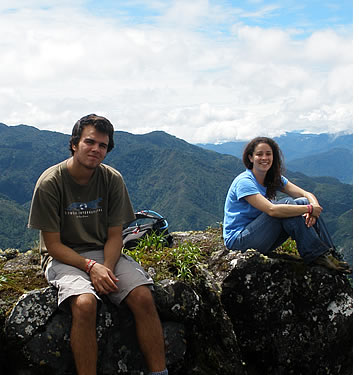 Habla Ya studenten in Boquete kunt genieten van Panama's eco-avontuur hoofdstad in de bergen